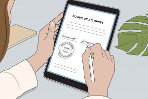 how to get legal documents notarized online